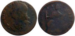 Us Coins - U.S. Colonial Connecticut Bust Left  AE27.  1787