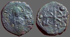Ancient Coins - Alexius I follis, Bust of Christ facing / Virgin Orans