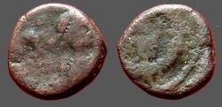 Ancient Coins - Leo I AE4 Nummus. Lion. Constantinople