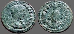 Ancient Coins - Severus Alexander AE22 Metropolis, Ionia.  Tyche