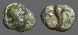 Ancient Coins - Kallatis, Thrace AE11 Apollo / Cornucopia K-A