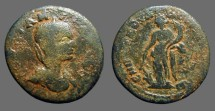 Ancient Coins - Julia Mamaea AE30 Antioch.  Tyche