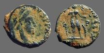 Ancient Coins - Honorius AE3 VRBS ROMA FELIX Antioch, Turkey