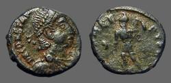 Ancient Coins - Constantius II AE3 (17mm) SPES REIPUBLICE