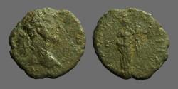 Ancient Coins - Septimius Severus AE17 Nicopolis ad Istrum.  Homonia