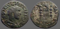 Ancient Coins - Philip I AE25 Pisidia, Antioch. Vexxillum & standards
