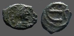 Ancient Coins - Justin I AE13  Pentanummium E gamma officiana