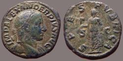 Ancient Coins - Severus Alexander AE30 Sestertius. Spes