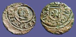 World Coins - Philip IV AE12 (2) Maravedis. Madrid