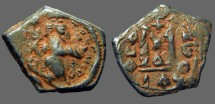 Ancient Coins - Constans II AE21 Follis.  Constantinople