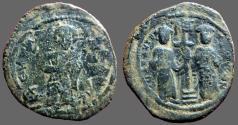 Ancient Coins - Constantine X and Eudocia AE28 Follis