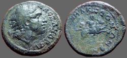 Ancient Coins - Macedon AE27 Alexander / Alexander horseback riding rt.