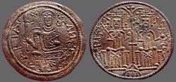 Ancient Coins - Hungary, Bela III.1172-1196  AE27 Denar