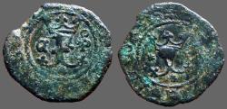 World Coins - Fernando V & Isabella, 18mm billon Blanca. 1474-1504