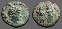 Ancient Coins - Arcadius AE3 Arcadius and Honorius stg. together.