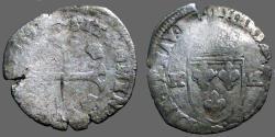 World Coins - France. Henry IV, 1589-1610, Billon AR25 Douzain, 1593