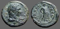 Ancient Coins - Sardes, Lydia, AE18 Semi-autonomous. Herakles / Herakles standing