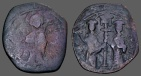 Ancient Coins - Constantine X and Eudocia Ae 30mm follis