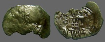 Ancient Coins - Andronicus II AE22 Trachy, Archangle Michael / Andronicus.   SB#2359.  Thessalonica