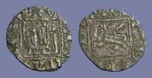 Ancient Coins - Alfonso XI silver Noven  Castille & Leon.  Burgos Mint