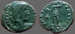 Ancient Coins - Constantius II AE3 SPES REIPVBLICE