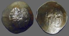 Ancient Coins - Manuel aspron trachy 27mm. Virgin / Manuel stg.