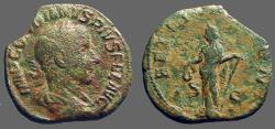 Ancient Coins - Gordian III AE Sestertius LAETITIA