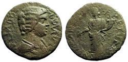 Ancient Coins - Julia Domna AE22 Parlais, Pisidia.  Tyche