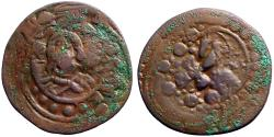Ancient Coins - Anonymous AE28 Follis attributed to Alexius I