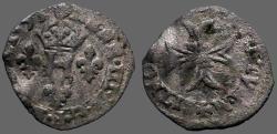 World Coins - France, Dombes. Henry II de Montpensier  AE17 Billon Liard.   1592-1608.