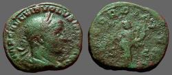 Ancient Coins - Volusian AE Sestertius.   CONCORDIA