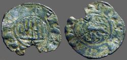 World Coins - Alfonso X AR Maravedi Prieto Castilia & Leon.