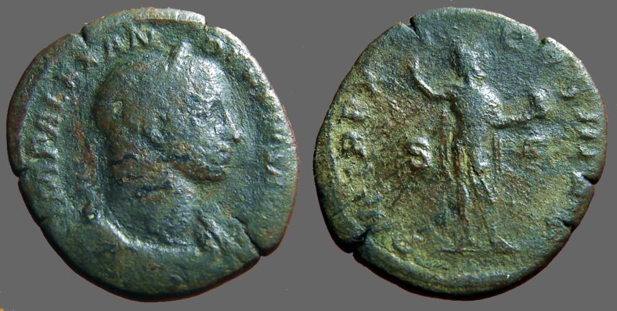 Ancient Coins - Severus Alexander AE29 Sestertius.  Sol