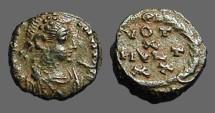 Ancient Coins - Arcadius AE4 VOT/X/MVLT/XX.  Antioch, Turkey