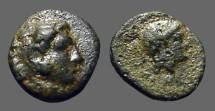 Ancient Coins - Pergamum, Mysia AE10 Hd Alexander the Great / Athena