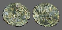Ancient Coins - Carlos I AE Dinero of Navarra.
