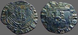 World Coins - Spain, Castille and Leon, Enrique IV, Blanca