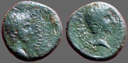 Ancient Coins - Germanicus & Drusus Caesar AE16 Lydia, Sardes.