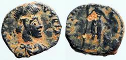 Ancient Coins - Honorius AE3 VRBS ROMA FELIX. Antioch, Turkey