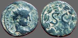 Ancient Coins - Elagabalus AE20. Syria, Antioch.  SC in wreath.