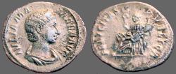 Ancient Coins - Julia Mamaea AR Denarius.  Felicitas