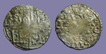 Ancient Coins - Spain, Alfonso X billon denaro 1252-1254