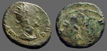Ancient Coins - Claudius II Gothicus billon antoninianus.  Serious mint error