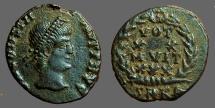 Ancient Coins - Constantius II AE4 VOT/XXMVLT/XXX.  Kyzicus