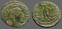 Ancient Coins - Constantine the Great AE20 Follis.  Sol stg. w. globe