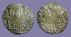 World Coins - Spain, Alfonso X billon denaro 1252-1254