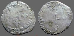 World Coins - France. Henry II AR25 Silver Double Sol, Paris mint, 1550