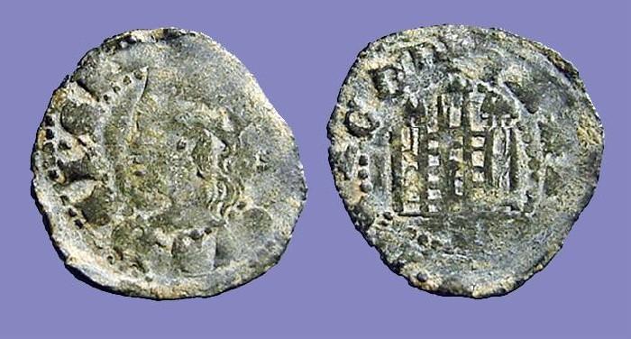 World Coins - Castilia and Leon, Alfonso XI.