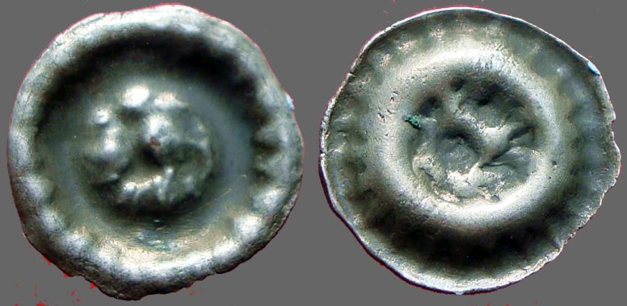 World Coins - Germany, Luneburg  AR12 pfennig Lion