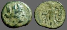 Ancient Coins - Cilicia. Korykos AE21 Tyche / Hermes